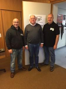 Besuch bei Radio FIPS