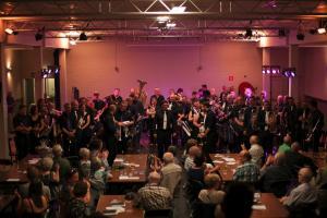 Gemeinschaftskonzert mit United Brass in Rotselaar, Belgien